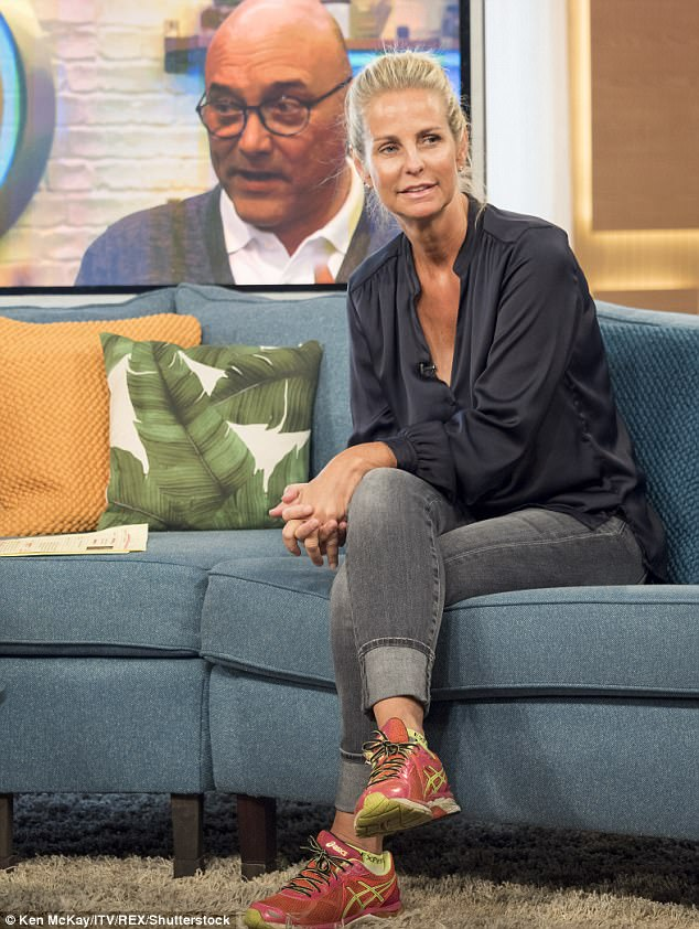 Happy days: Ulrika admits she is finally ready to return to screens after her