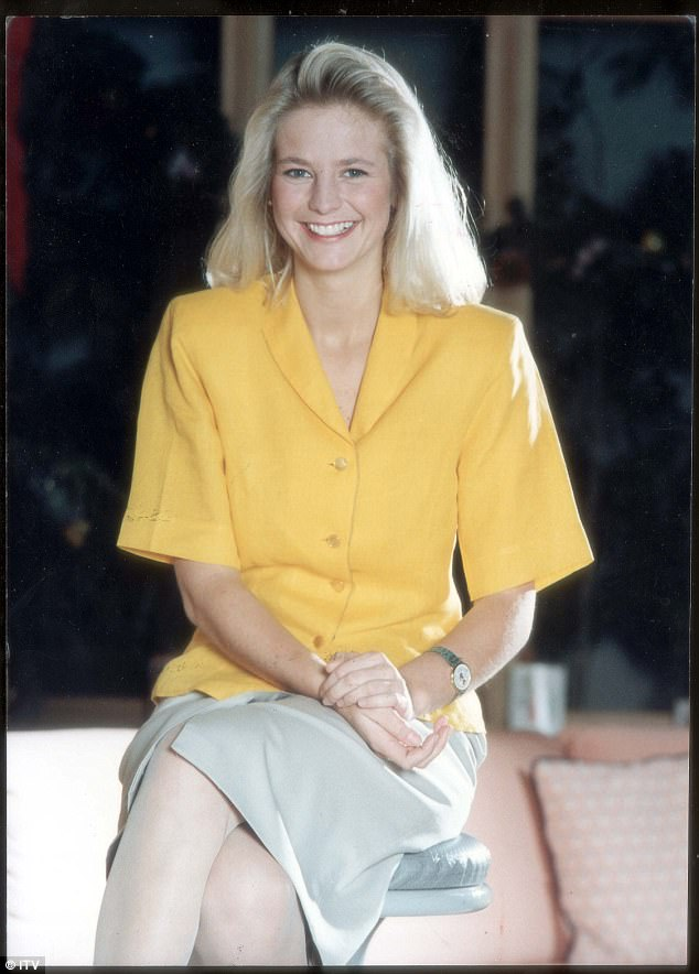 Way back when: Ulrika soared to fame on now-defunct ITV breakfast show TV-am, where she starred as a weather girl before going on to become a TV hit on shows including Gladiators, The National Lottery, Miss World and the Eurovision Song Contest
