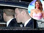 Picture Shows: Prince Harry, Prince William  December 12, 2017    * Min Paper Fee £300 *    * Min Web / Online Fee £300 For Set *    Star Wars after party at Kensington Palace, England.  Princes William and Harry held a glitzy after party at their Kensington Palace home, the first of it's kind ever.  Usually reserved for corporate events and garden parties, instead tonight, the great and good from Hollywood stepped out in the plush gardens, aided by palace security guards.    * Min Paper Fee £300 *    * Min Web / Online Fee £300 For Set *    Exclusive  WORLDWIDE RIGHTS  Pictures by : Flynet Pictures © 2017  Tel : +44 (0)20 3551 5049  Email : info@flynetpictures.co.uk
