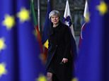Theresa May turned up in Brussels today for the gathering of leaders that is due to sign off starting trade talks