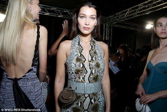 Radiant:Bella's was joined by a bevy of equally stunning model pals