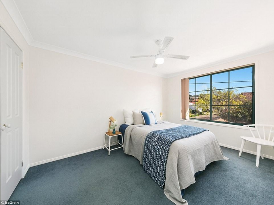 Relaxed vibes: Making for a comfortable residence in summer, each bedroom has ceiling fans and air conditioning is available within the dining and living areas