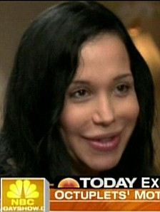Nadya Suleman once feared she could never give birth.