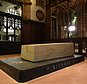 The stone tomb of Richard III in Leicester Cathedral (Joe Giddens/PA)