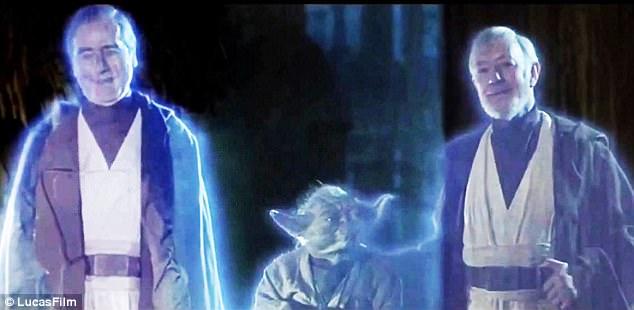 Foiled again:Sebastian Shaw's original Anakin ghost will not be making a return