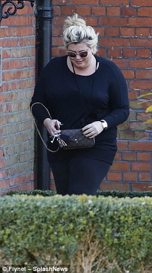 Gossip: The reality TV star will no doubt have lots to talk about with her co-stars after Arg, 29, was pictured leaving her house last Thursday