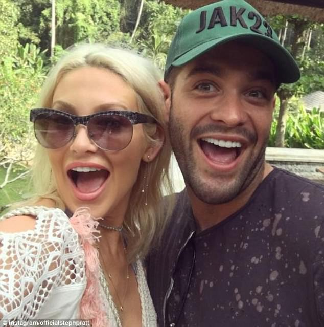 Causing a stir: Stephanie  came under fire from fans while marking her month-anniversary with new flame Jonny, as she appeared to make a dig at his Love Island ex Camilla Thurlow