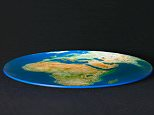 The Ancient Greeks first discovered the world was round in at least 200BC, if not 300 years earlier