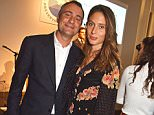 Ben Goldsmith and his wife Jemima Jones, pictured, were among guests at a party at a club near the Grenfell Tower site that was 'shut down by extremists'
