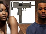 Shevonne Legister (left) was given the 'spray and pray' Mac 10 - apparently by her boyfriend Lemuel Robinson (right) - in the hours following the killing