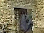 Creepy: Dean and Amy Harper believe their picture (circled in yellow) shows the 'Grey Lady' who has supposedly haunted Dudley Castle in the West Midlands for centuries