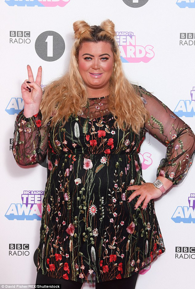 Gemma Collins may soon be rubbing shoulders with the Hollywood A list, as the viral video of her epic fall at Sunday's Teen Awards has made it across the pond