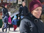 On Sunday, Megyn Kelly appeared to be in family mode as she stepped out with her husband Douglas Brunt and their three children