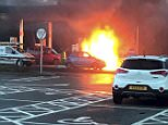 Julie Nicklin, 54, had mistakenly poured fuel into her 'Smart' car's interior through a detachable cap on the other side of the car - not the one containing its fuel tank. The fuel was ignited as she turned the ignition key