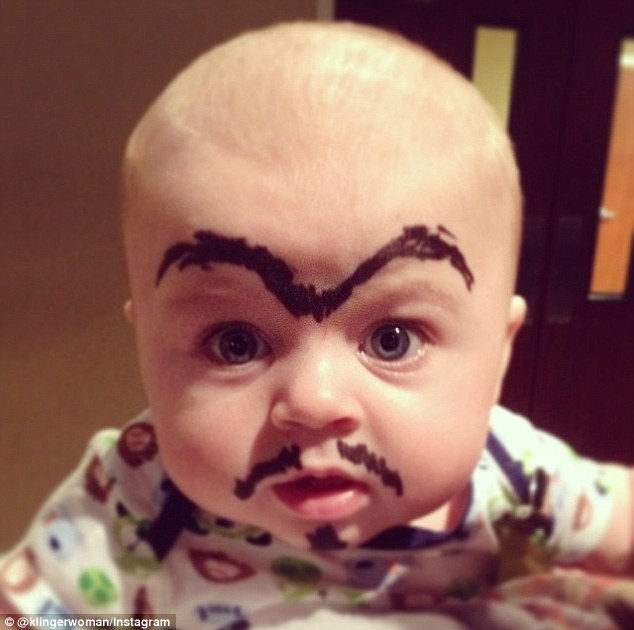 Baby Eyebrowing Trend Hits the Internet