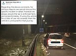 West Yorkshire's Roads Policing Unit posted a picture of the vehicle on Twitter to tell locals they had seized a silver Volkswagen on the M62 because it didn't have cover for commuting