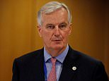 Britain must 'face the consequences' of its Brexit vote, EU negotiator Michel Barnier (pictured in Brussels on Friday) warned today