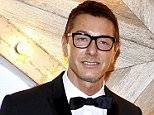 No label: Stefano Gabbana, left, pitcured with his business partner Domenico Dolce, says he no longer wants to be labelled 'gay'