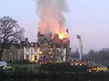 Two people have died and three others have been taken to hospital following the blaze at the five-star Cameron House
