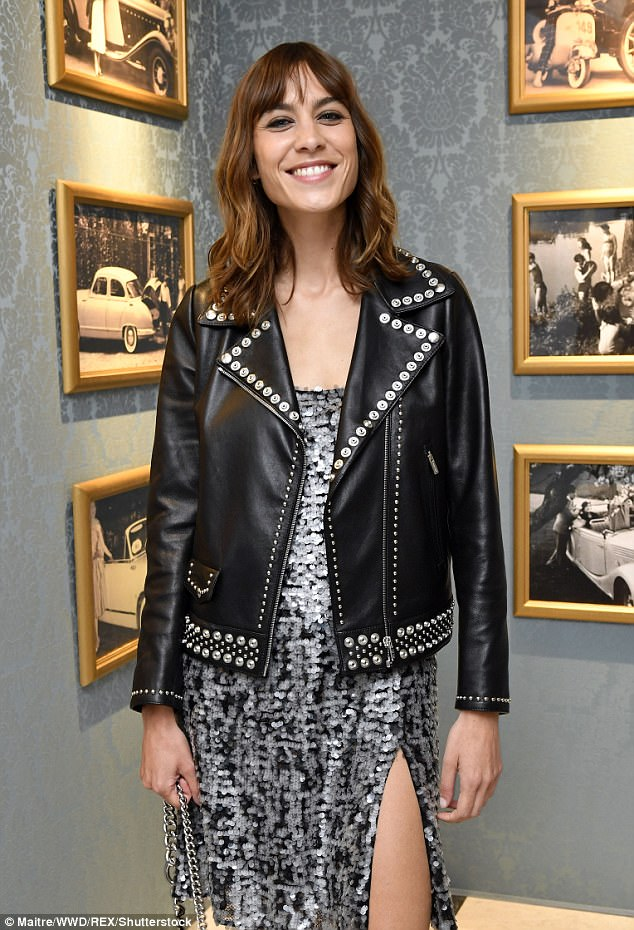 Dating woes: The fashion designer, who has previously dated Arctic Monkeys star Alex Turner, has confessed she is a 'nightmare to date' as she is 'quite restless'