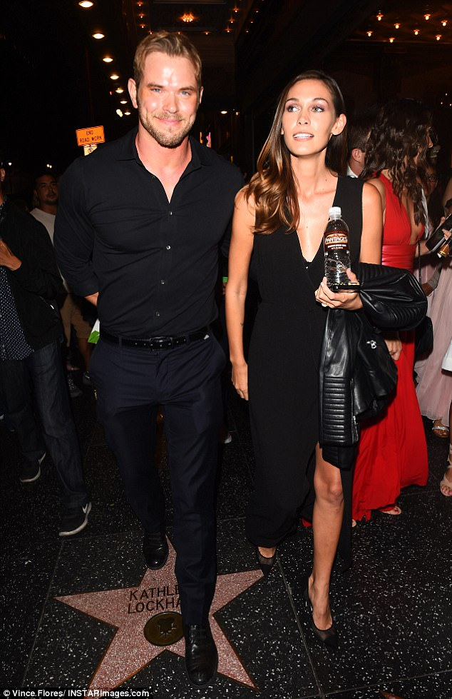 She said yes! Kellan Lutz is engaged to his long-term girlfriend Brittany Gonzales, according to a Thursday report from Us Weekly (pictured at the opening night of Hamilton: An American Musical in Los Angeles in August)