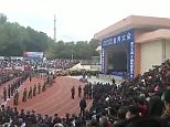 Thousands of people on Saturday attended the rally jointly held by two courts in Guangdong