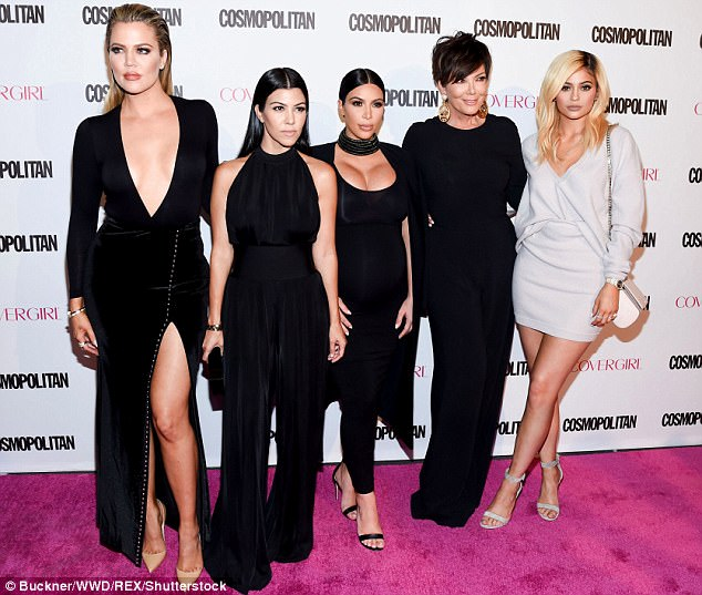 Reality royalty: Kim also promoted the upcoming season of Keeping Up With The Kardashians, which returns to screens later this year