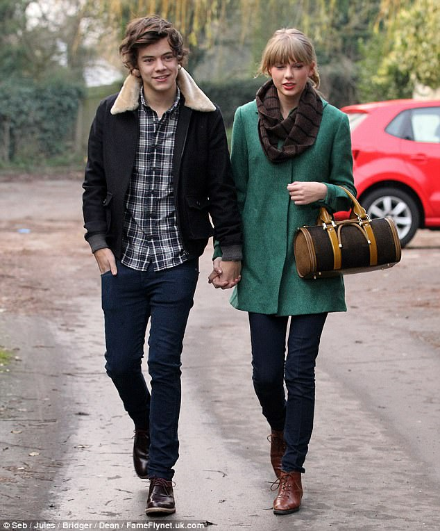 He's got The X Factor: Taylor enjoyed a brief romance with One Direction star Harry Styles in 2012