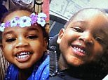 Tiffarah Paul-Wright, (left) age two, and Aiale Paul-Wright, (right) four, have now been found safe and well after they went missing from their home in Islington, north London