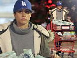Meghan Markle stocked up on groceries at her local supermarket in Toronto on Friday as her boyfriend Prince Harry finished off a royal tour of the Caribbean