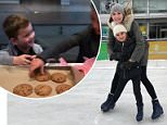 Festive outing: Ivanka and Jared spent Sunday having a family fun day with their children
