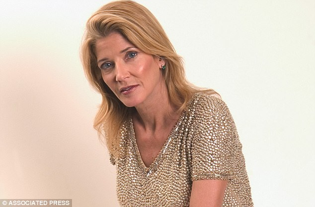 Sex and the City author Candace Bushnell, pictured, questioned why Harvey Weinstein needed to harass women when there were plenty who were willing to be seduced by his power