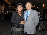 Tragic end: Barry and Honey Sherman (above in 2010) were found hanging from the railing by their indoor pool on Friday with men's belts around their necks according to sources