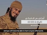 ISIS has claimed it has hacked the US Army and State Department and is sending assassins to employees' homes in a gruesome new propaganda video
