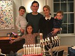 The Kushners posed for a sweet family photo to celebrate the 7th night of Hanukkah on Tuesday that Ivanka Trump uploaded to Instagram