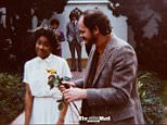 Meghan Markle's parents Tom and Doria (pictured) married on December 23, 1979 at the wacky Self-Realisation Fellowship Temple on gaudy Sunset Boulevard in Los Angeles