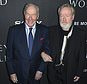"""Christopher Plummer, left, and director Ridley Scott arrive at the world premiere of """"All the Money in the World"""" at the Samuel Goldwyn Theater on Monday, Dec. 18, 2017, in Beverly Hills, Calif. (Photo by Jordan Strauss/Invision/AP)"""