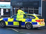 Police have evacuated an area in Chesterfield, Derbyshire while bomb squad officers assess the scene