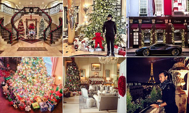 Rich Kids of Instagram share photos of their Christmases