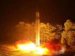 Pyongyang has tested a missile that could hit the eastern seaboard of the United States