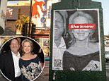 Posters claiming Meryl Streep knew about the Harvey Weinstein sexual abuse and harassment allegations have appeared all over LA