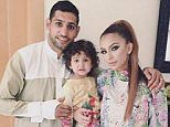 Amir Khan came under attack from internet trolls after posting this picture of his Christmas tree online