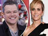 Matt Damon (shown during his guest appearance on Good Morning America last Tuesday) was a no-show for the premiere for upcoming movie, Downsizing Monday night