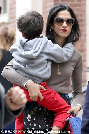 Huma Abedin announced her separation from Anthony Weiner in August after it emerged that he had sent a photo of his crotch to a woman while his son was next to him.