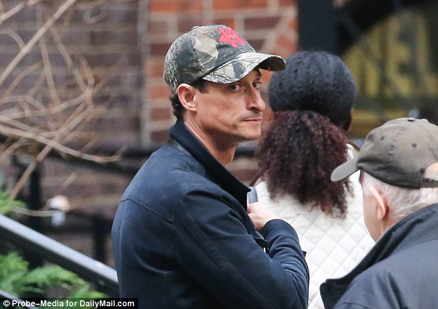 Weiner has returned to New York after a stint in a rehab clinic to help battle his sexting issues