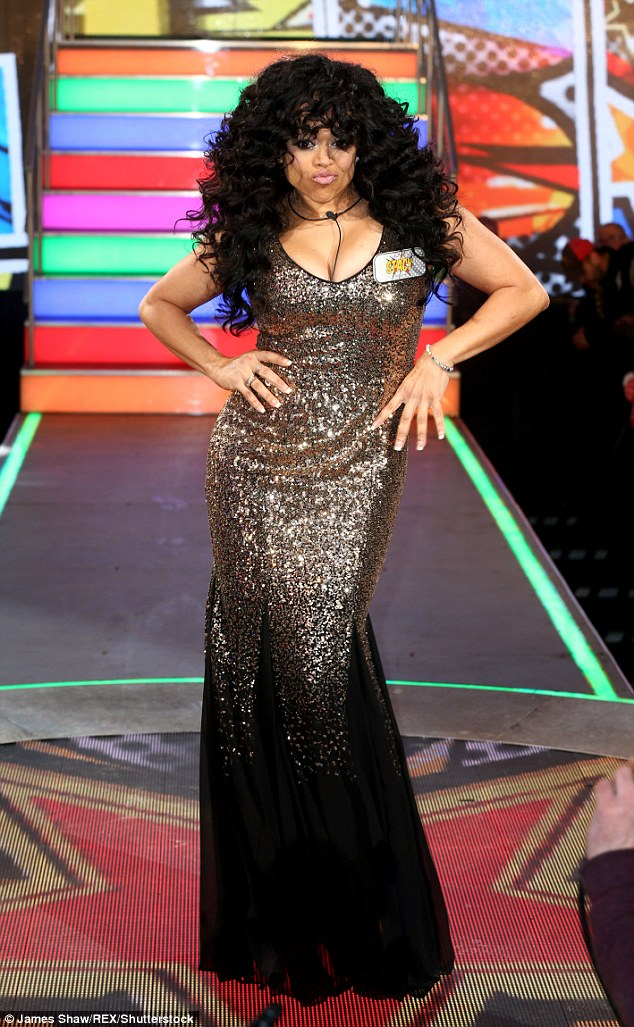 Lost her guy candy:One housemate who will no doubt be missing Brandon's prescence is Stacy Francis, who previously admitted she found the DJ 'sexy'