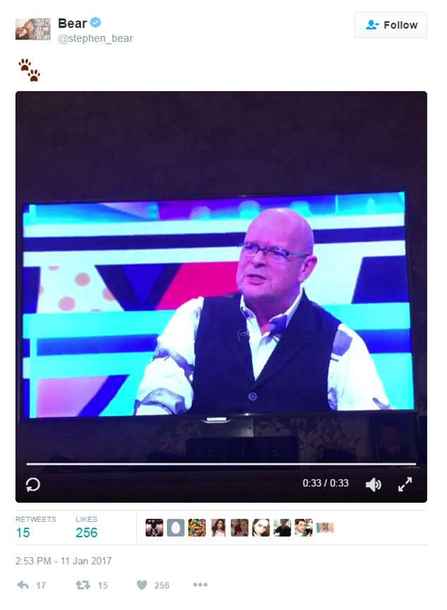 Cryptic: He  posted a video of his ex-CBB housemates James Whale speaking about him on Big Brother's Bit On The Side, accompanying the tweet with a paw print emoji