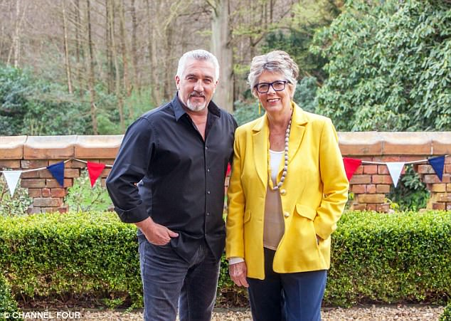 Dynamic duo: Paul and Prue will return once again to judge the festive proceedings, in two specials on Christmas Day and New Year's Day