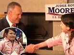 Roy Moore has emerged for the first time in days for an interview with a 12-year-old girl for Christian TV