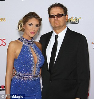 Adult film actress August Ames (L) and her husband, adult film producer Kevin Moore, attend the 2016 Adult Video News Awards at the Hard Rock Hotel & Casino on January 23, 2016
